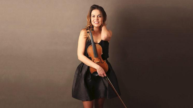 Violinistin - Geigerin - Geigenspielerin